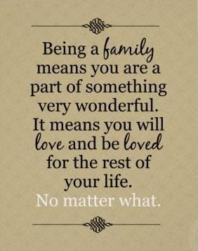 the meaning of family Those beings and objects are a part of everyday family life, and from an  interactionist approach humans can assign them the meaning of family,.