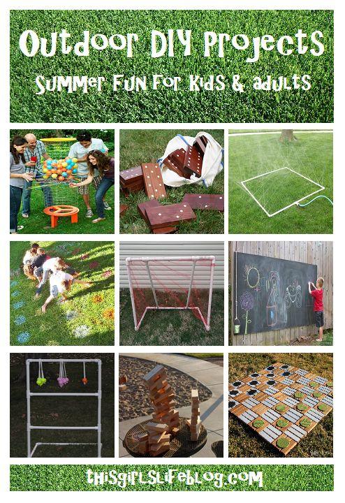 Backyard Camping Ideas For Adults : Summer Fun for Kids & Adults Great game ideas for Summer parties