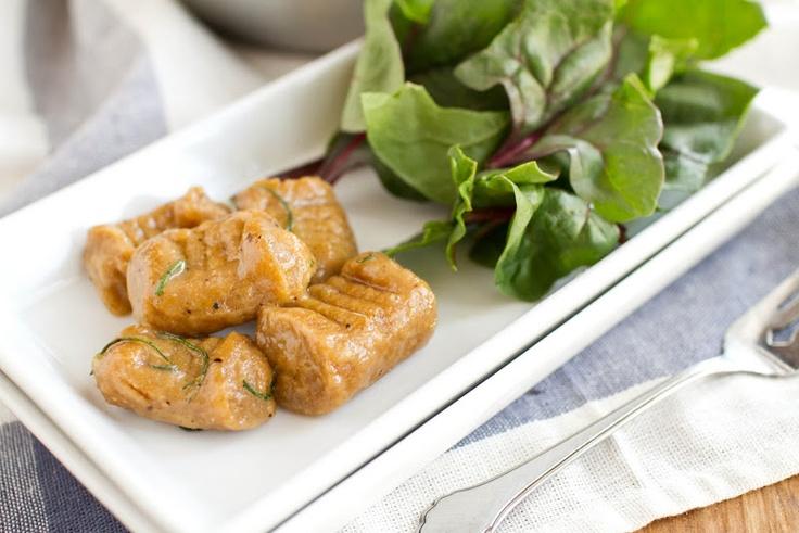 Naturally Ella | Whole Wheat Sweet Potato Gnocchi |