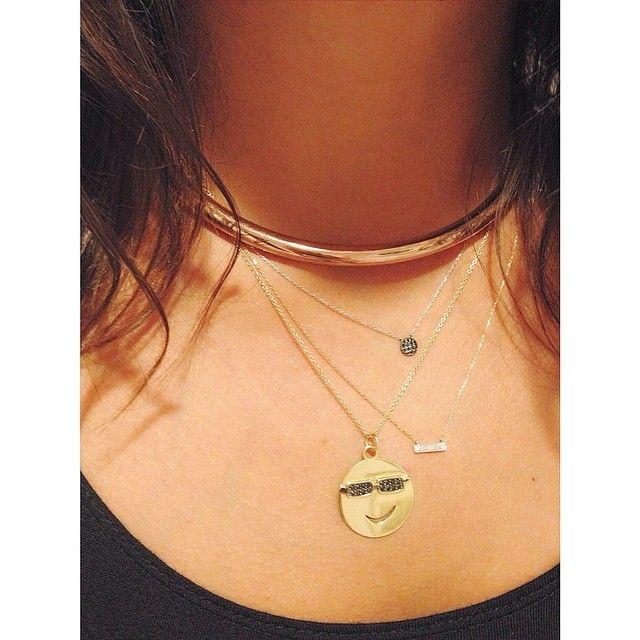 Jennifer Fisher collar + a little @Dana Rebecca and Alison Lou