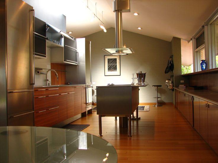 modern mid century kitchen architecture pinterest