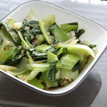 Ginger Garlic Bok Choy Stir Fry | food | Pinterest