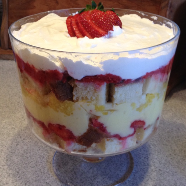 Top Paula Deen Punch Bowl Cake Images For Pinterest Tattoos