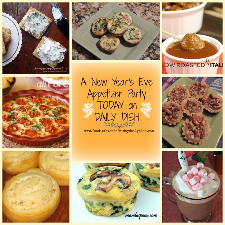 New Years Eve Appetizer Party… | Muffin Tins & Mugs