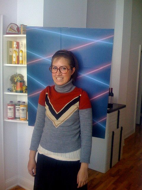"love the laser beams .. ""school photo"" costume. this is hilarious!"