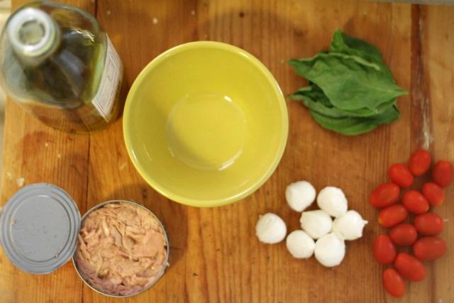 Tuna Caprese Salad | Food / Salads | Pinterest