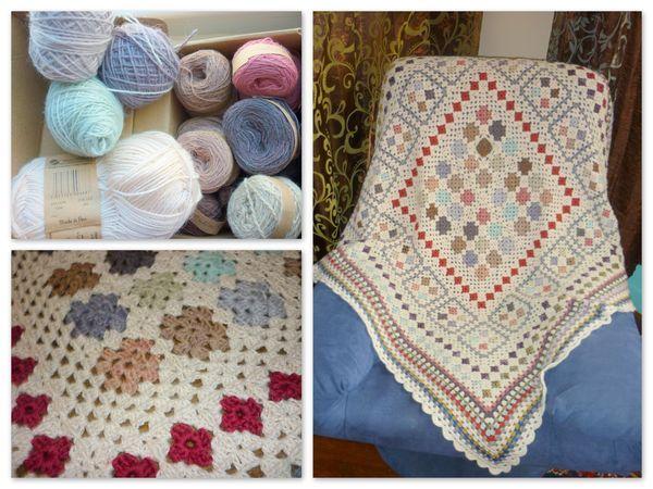 Crocheting Quilts : Crochet quilt blanket crochet Pinterest