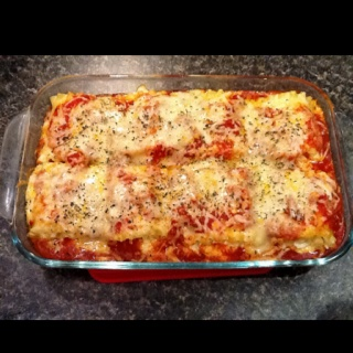 Chicken and Cheese Lasagna Roll-Ups | Yummyness | Pinterest