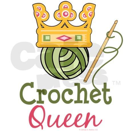 Crochet Queen : crochet queen - thats me!!!!