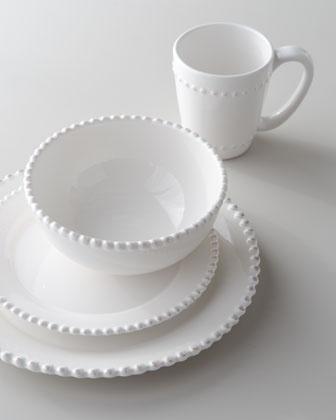 """Bianca"" 16-Piece Beaded-Edge Dinnerware - Neiman Marcus"