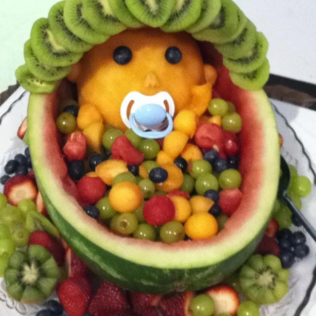 baby shower fruit bowl food ideas pinterest