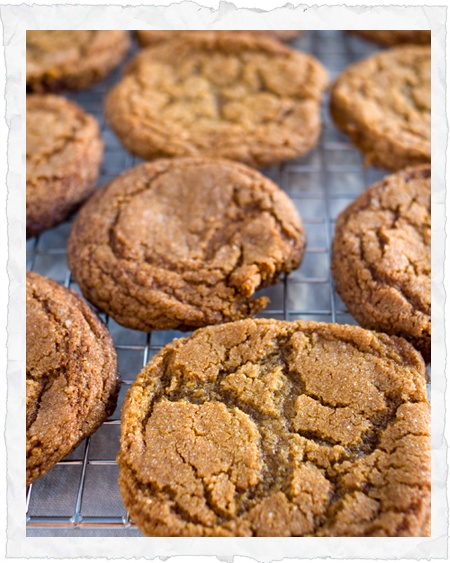 Spicy molasses cookies | C is for Cookie | Pinterest
