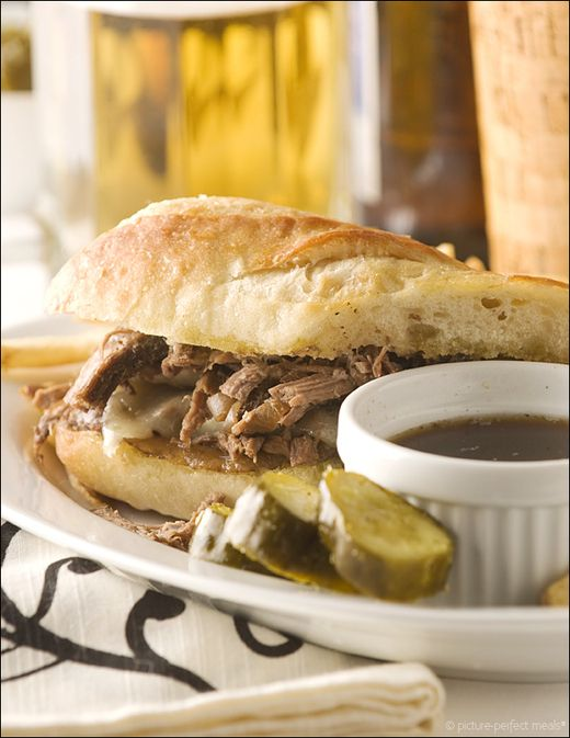 RECIPE - French Dip Sandwich | It's What's For Dinner | Pinterest