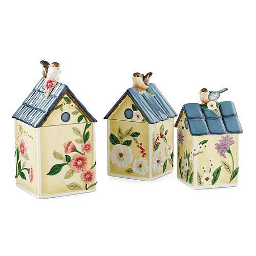 Outstanding Birdhouse Ceramic Kitchen Canister Sets 500 x 500 · 29 kB · jpeg