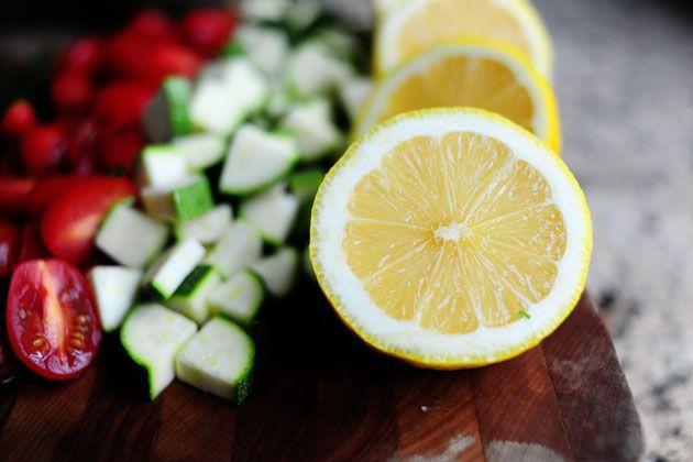 Pasta Salad with Tomatoes, Zucchini, and Feta | Recipe