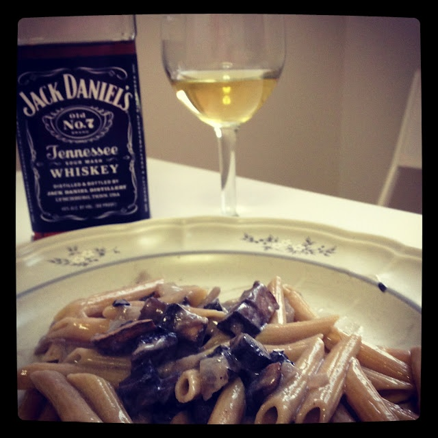 Pasta with Whiskey, Wine, and Mushrooms | Yumm | Pinterest