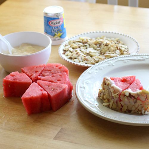 watermelon tart!   Yummmmmy   Pinterest