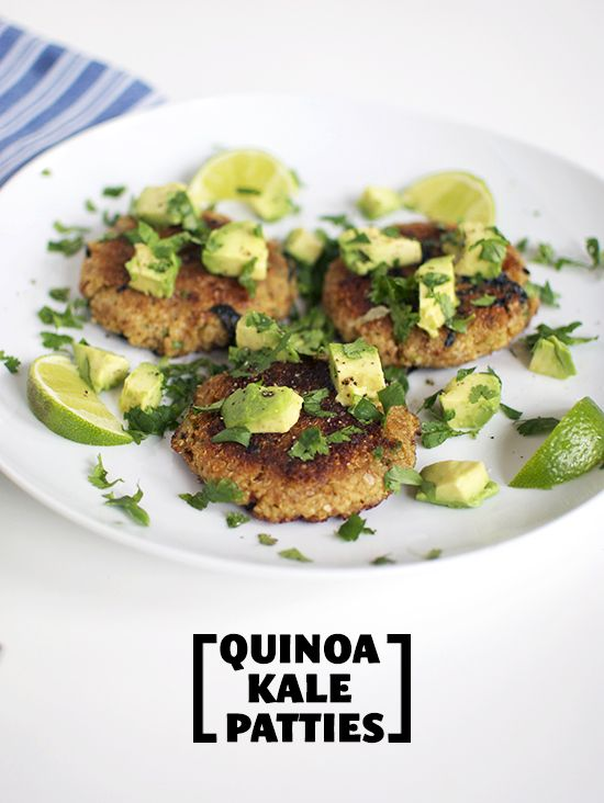quinoa kale patties | Inspired to Share | Replace w/ Quinoa! | Pinter ...
