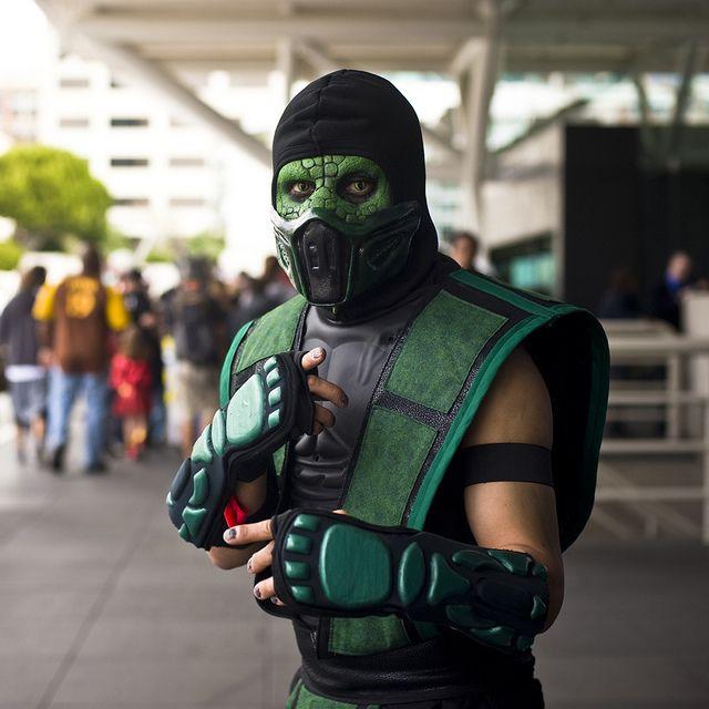 Reptile mortal kombat costume - photo#3