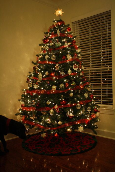 christmas tree with ribbon | The Most Wonderful Time of the Year | Pi ...