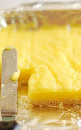 Lemon Pie Bars | FEED ME | Pinterest