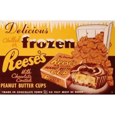 Frozen Reese's Peanut Butter Pie Recipe — Dishmaps
