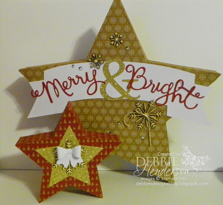 The Holiday Supplement is here! Additional products now available for your Christmas projects. THESE ARE ALL AS SUPPLIES LAST so get them now! I've attached a picture of the stars kit that I've been working with.......can I say awesome!  Go here to view the supplement: http://www.stampinup.com/ECWeb/ItemList.aspx?categoryid=2008