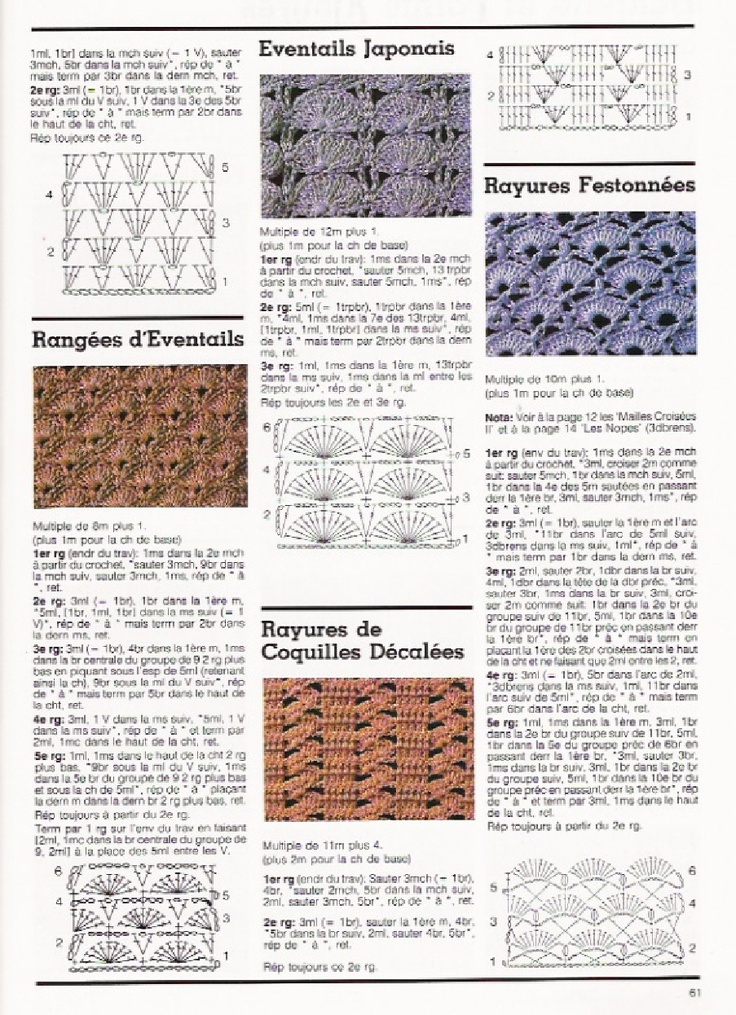 Crochet Stitches Diagrams Pinterest : Pin by Tina Smith on BBB ~ Crochet STITCHES IV (diagrams) Pinterest