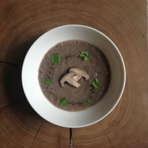 Real Mushroom Soup - Really simple recipe and easy to make! [vegan ...
