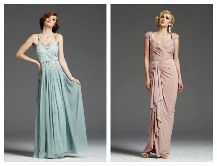 Bridesmaid mother of the bride evening cocktail prom dress