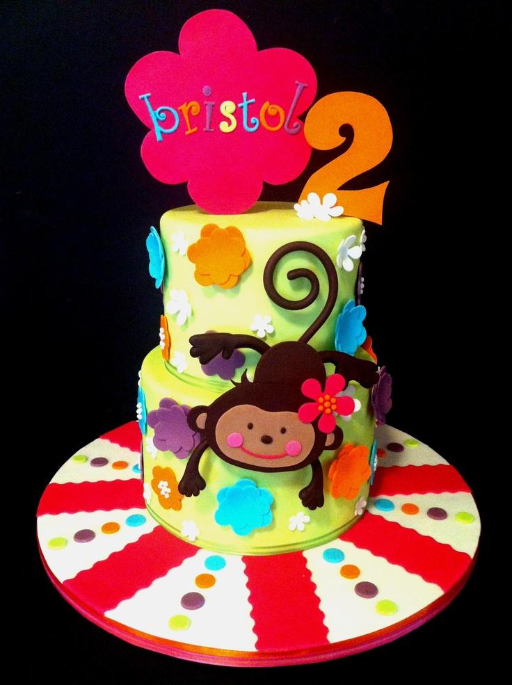 birthday cakes monkey