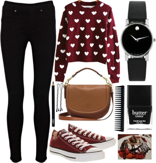 """cutie hearts"" by jessica69b on Polyvore"