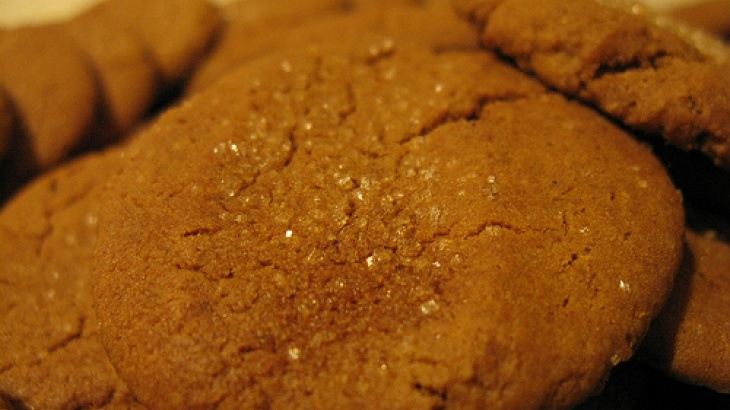 Hot and Spicy Gingersnaps | cookies | Pinterest