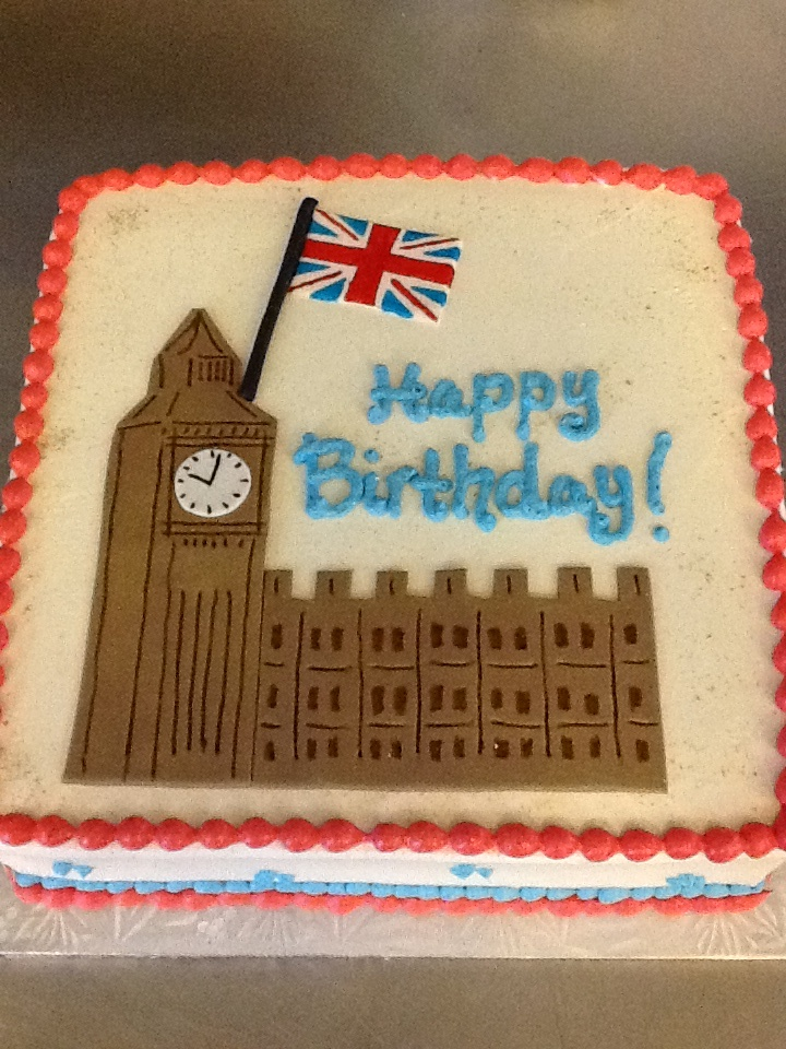 Big Ben birthday cake Scotland Yard Birthday Pinterest