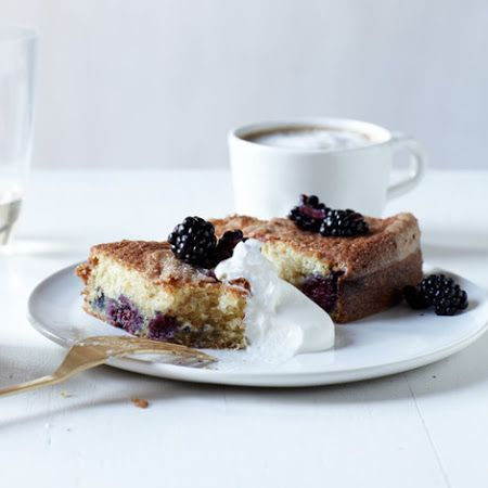 Buttermilk Cake with Blackberries | Elegant Foods and Desserts