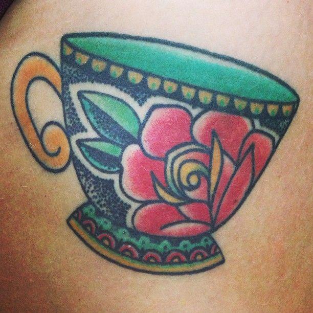 Teacup Tattoo Coffee Tattoos: Mehndi, Tattoos & Piercings