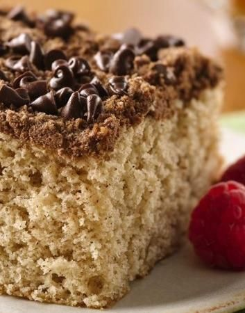 Chocolate Streusel Coffee Cake | Recipe