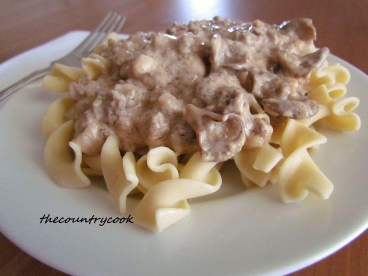 Beef+Stroganoff | Looks yummy | Pinterest