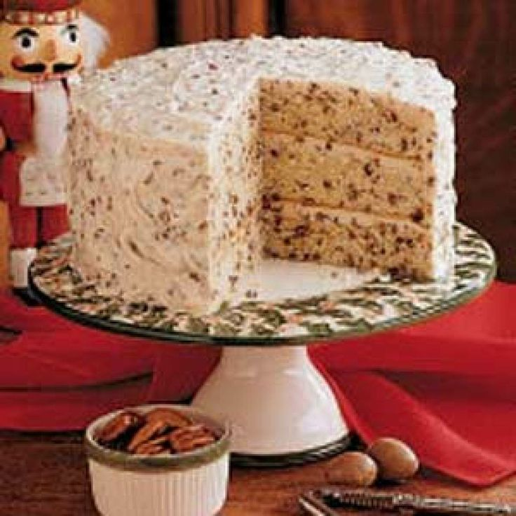 Butter Pecan Cake Recipe .. totally worth a shot since butter pecan is ...