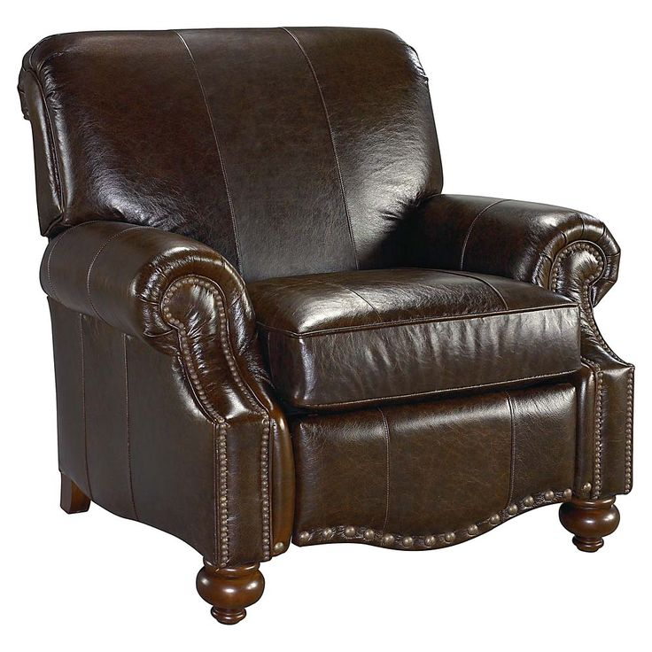 Leather Recliner With Nailhead Trim Everyone Should Have