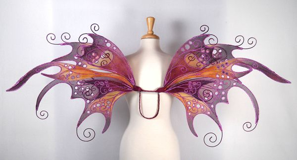 fancy purses good size wings  Fairy wedding ideas
