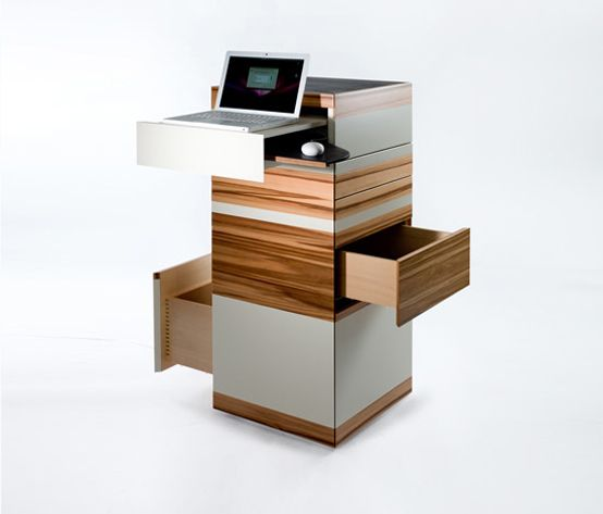 Office For Tight Spaces Furniture Pinterest