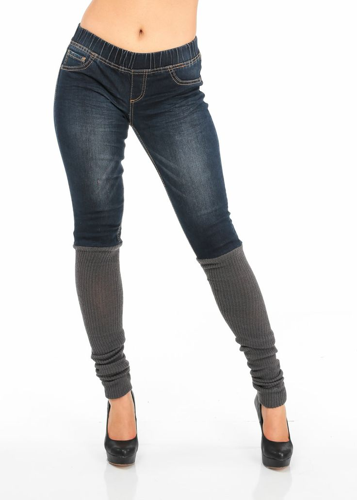 Leg Warmer Jeans In Jeans | Things I Want | Pinterest