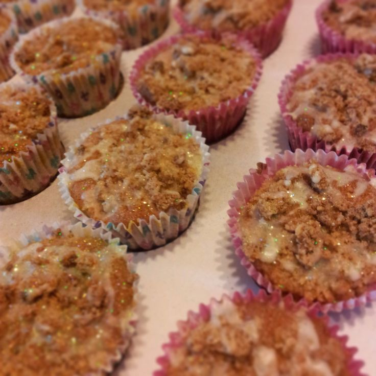 Spiced apple crumble cupcakes | Cupcakes | Pinterest