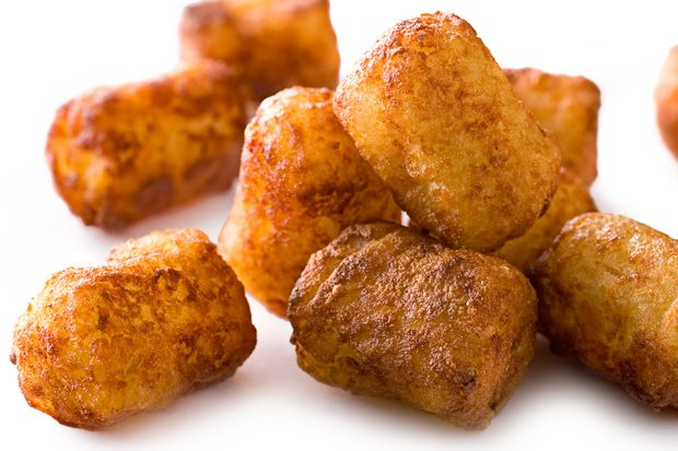 Basic Potato Tots (figiure out how to bake rather than fry and add ...