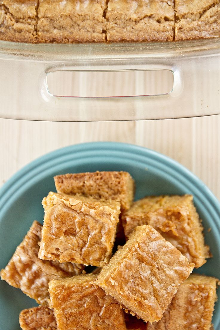 Butterscotch Blondies. Browned butter makes such a difference!