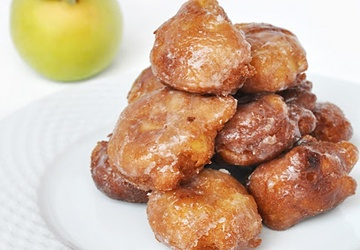mini apple fritters | Sweets/ cookies/ pies/ breads, etc. | Pinterest