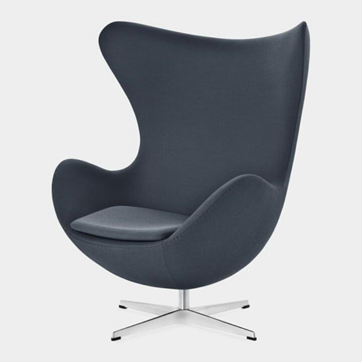arne jacobsen egg chair design is industry pinterest. Black Bedroom Furniture Sets. Home Design Ideas