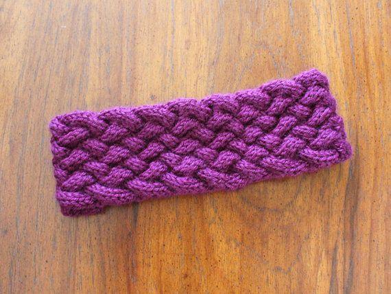Knit Braid Pattern : Knitting Pattern: Multi-Strand Braided Knit Headband