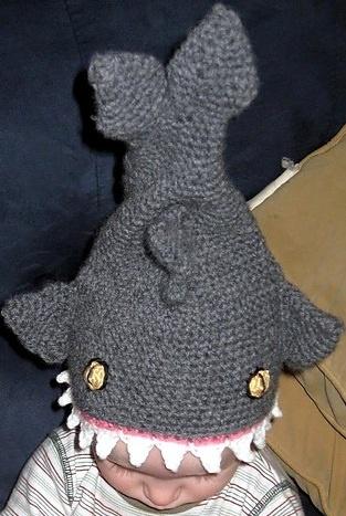 Free Crochet Pattern For Shark Hat Pakbit For